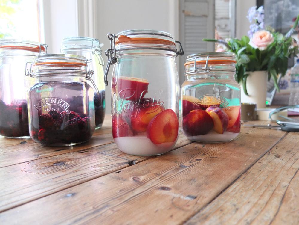 Fruit Gin Bottles