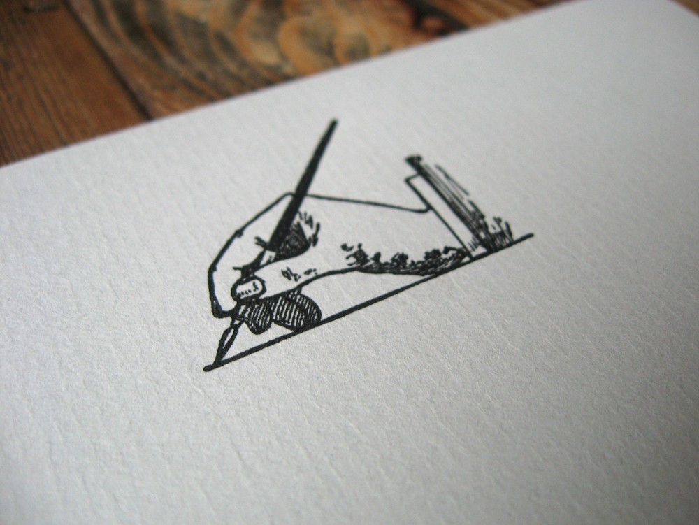 Writing Headed Paper for a Wedding Guest Book from Vintage Engraving.