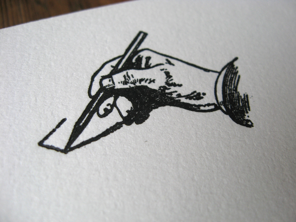 Drawing Headed Paper for a Wedding Guest Book from Vintage Engraving.