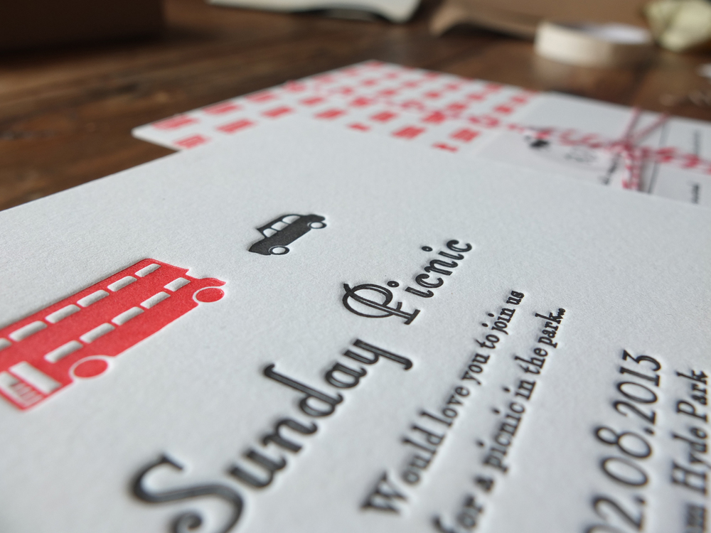 Letterpress Wedding Invitations - Designed for You - By Wolf & Ink