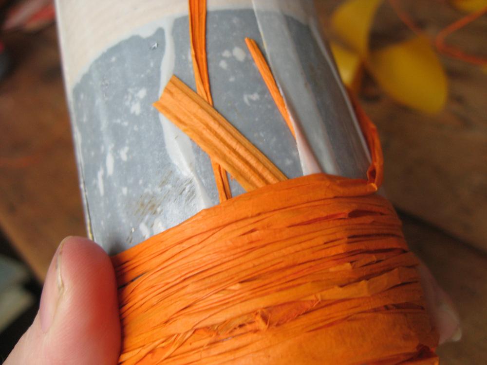 Wedding DIY - Raffia Wrapped Bottle.jpg