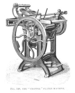 Treadle Platen Press