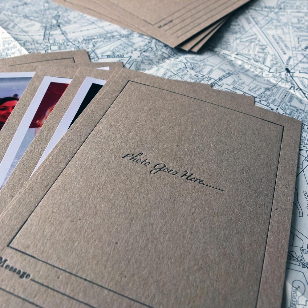 Letterpress Guest Cards
