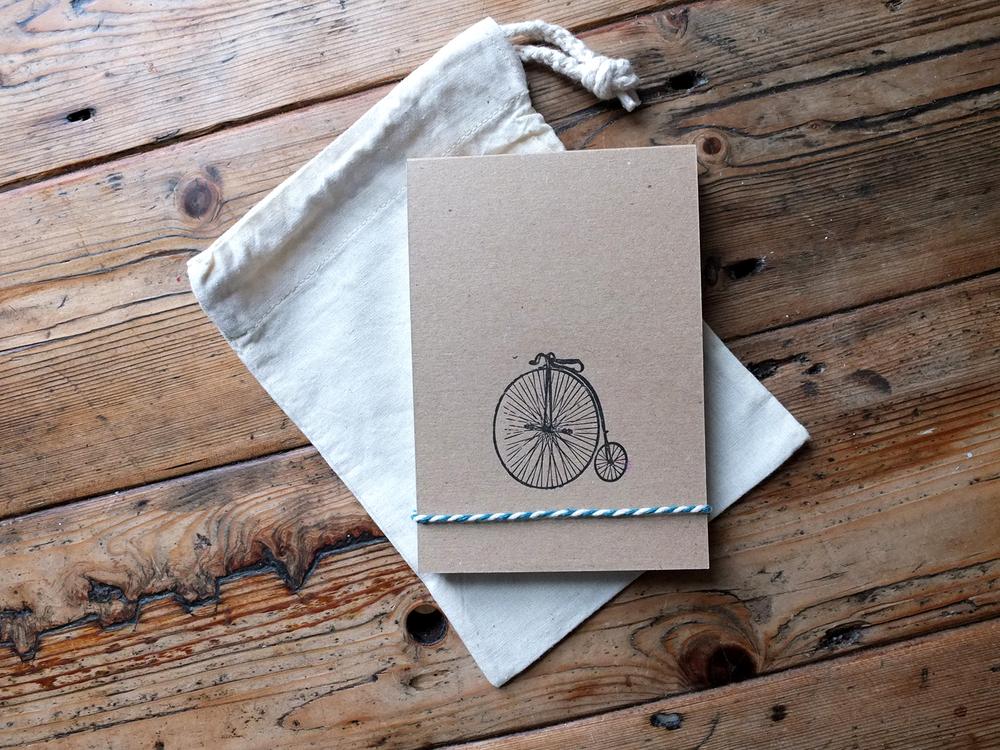 Letterpress Notepad Wolf & Ink
