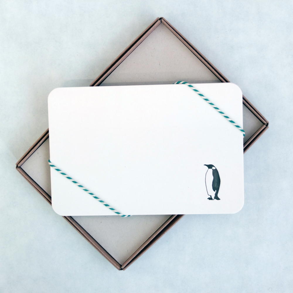 Wolf & Ink Lone Penguin Notecards_00.JPG