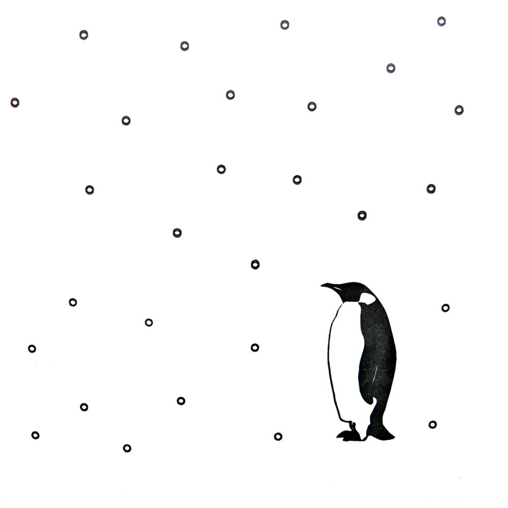 Wolf & Ink Penguin In The Snow Christmas Card_02.JPG