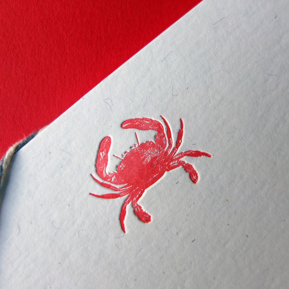 Wolf & Ink_Vintage_Crab Notecards_02.JPG