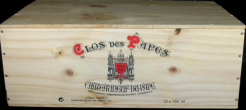 Clos Des Papes 12 Bottle WIne Crate.jpg
