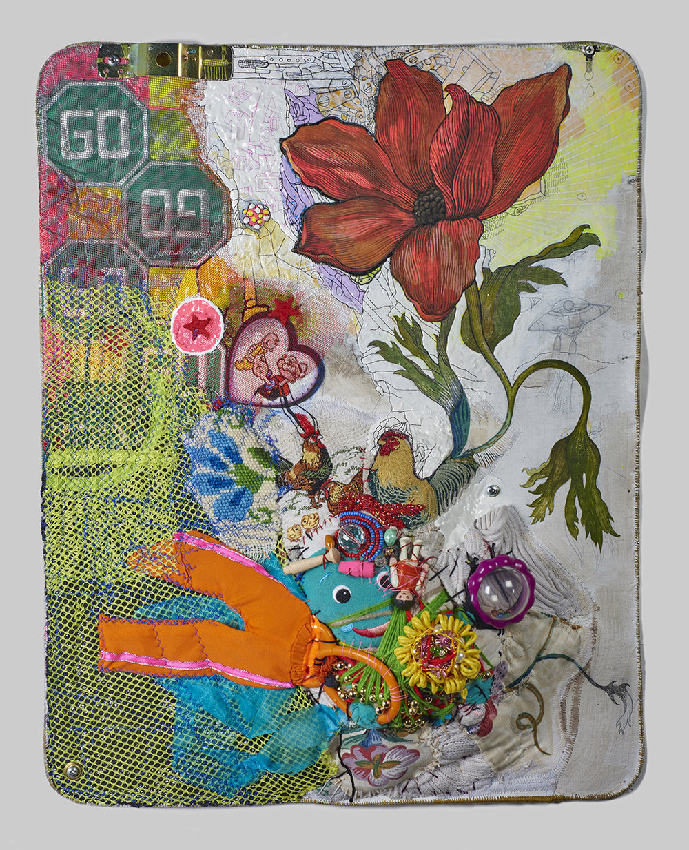 """Hybrid (After Nature by Jedediah Purdy), 2016 22 ½"""" x 17 ½"""" x 5"""""""