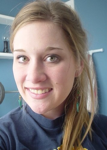 My first and last selfie, fall 2005. The days I could still rock the side ponytail.