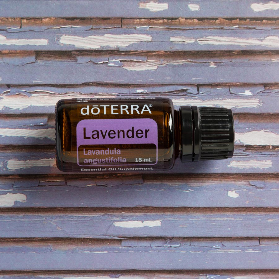 Lavender 100% CPTG* Essential Oil    Lavender is soothing, calming, and gentle for babies.  It is the most widely used essential oil on babies and young children.  Essential tips: To calm a crying or overtired baby, put just one drop under baby's nose or on forehead for a natural, effective calming experience.   Place a drop on mother's breast while holding baby or nursing for an additional calming routine.  Diffuse 2-3 drops of Lavender in baby's room for a more peaceful nights sleep.