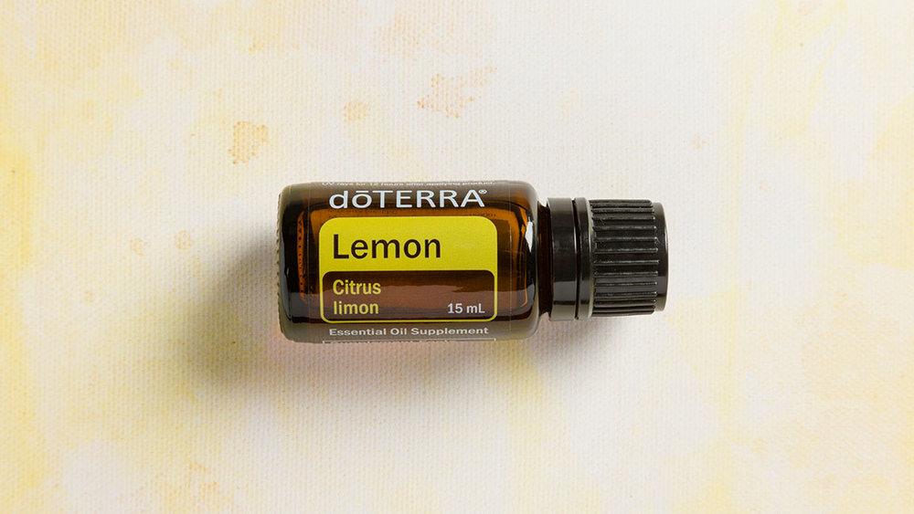 Lemon 100% CPTG* Essential Oil