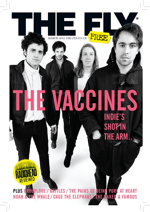 I will stop going on about The Vaccines any day now, I assure you. Honest, I will. Have shot features with Cage The Elephant, Group Love, Noah and The Whale, The Naked and Famous and this bunch too so do pick one up in your local sweat pit should you see one. Thanks. Click me to see it on screen instead!