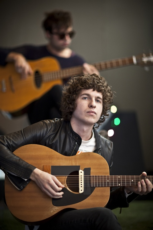 Welcome back The Kooks! Luke Kook sang beautifully and while it was good to see them again, it was even better to hear their new tunes and shoot them in this most intimate of settings - under a canopy in the courtyard at The Fly offices.