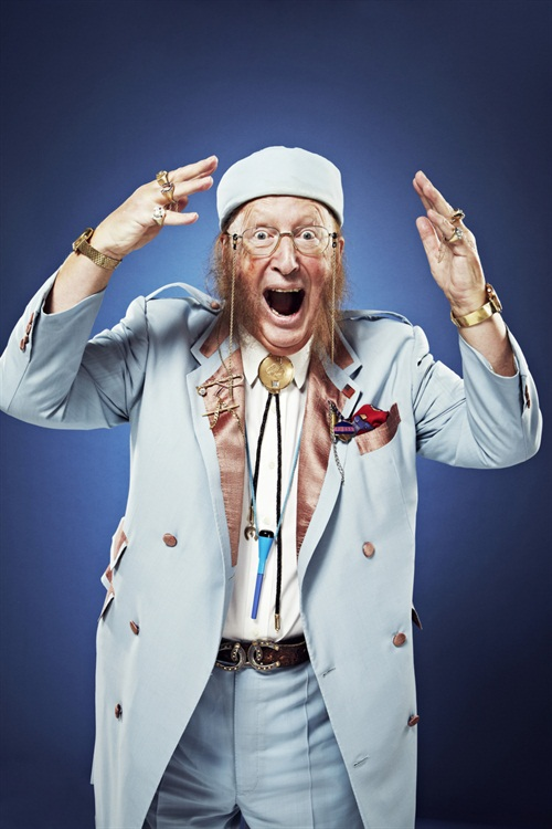 Wonderfully fun studio shoot with John McCririck. Obviously he's a great character but also a proper pro - shooting stills is a very speedy process when compared with TV work, so I relied on Tom Andrew's lighting skills to ensure a slick process then got John in to do his thing in about 4 minutes and 30 frames. He made it very easy, both before the makeover and after... More info here, race fans:  http://www.lovetheraces.com/
