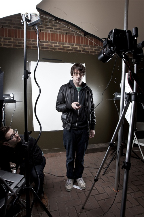 Hi. So my first blog for the Huffington Post is up, click  here  to view it. It's the story of a great fun shoot I did with Graham Coxon for The Fly, and so memorable were it that I thought I'd document the process in full and share it with your good self, dear viewer. Recorded forever, on the HuffPo. Something for the grand kids, you know. Heritage.