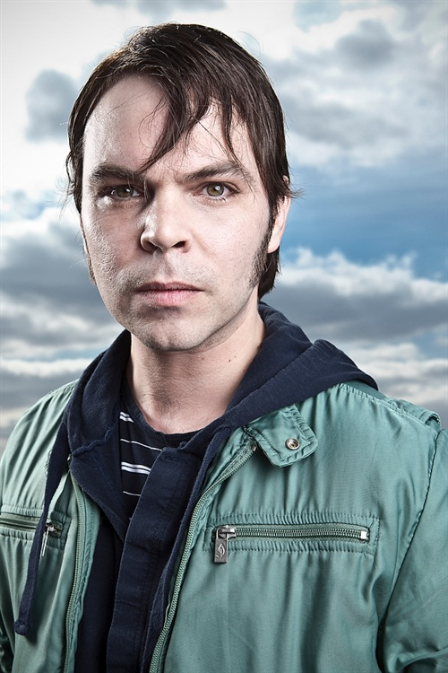 Superquick, in and out, bang pop shoot on the roof of the label with Gaz Coombes. Cool guy of course, you knew this.