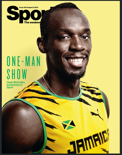 Nice cover for Sport Magazine. Shoot details in the post below. 300K of these mags being handed out right NOW. POW.