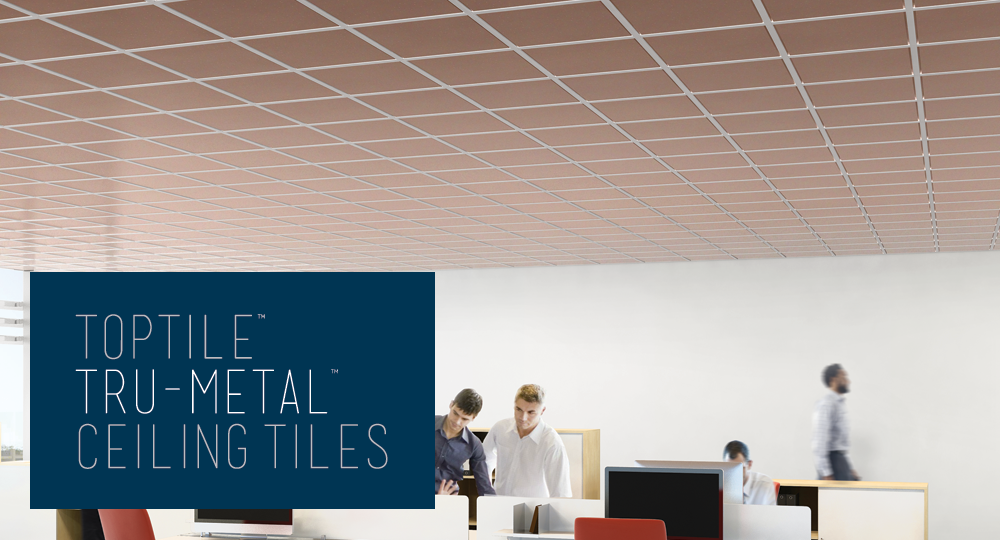 Tru Metal Ceiling Tiles Toptile Ceilings