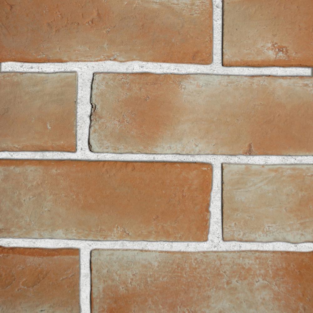 Brick veneer series toptile ceilings for Glue on brick veneer