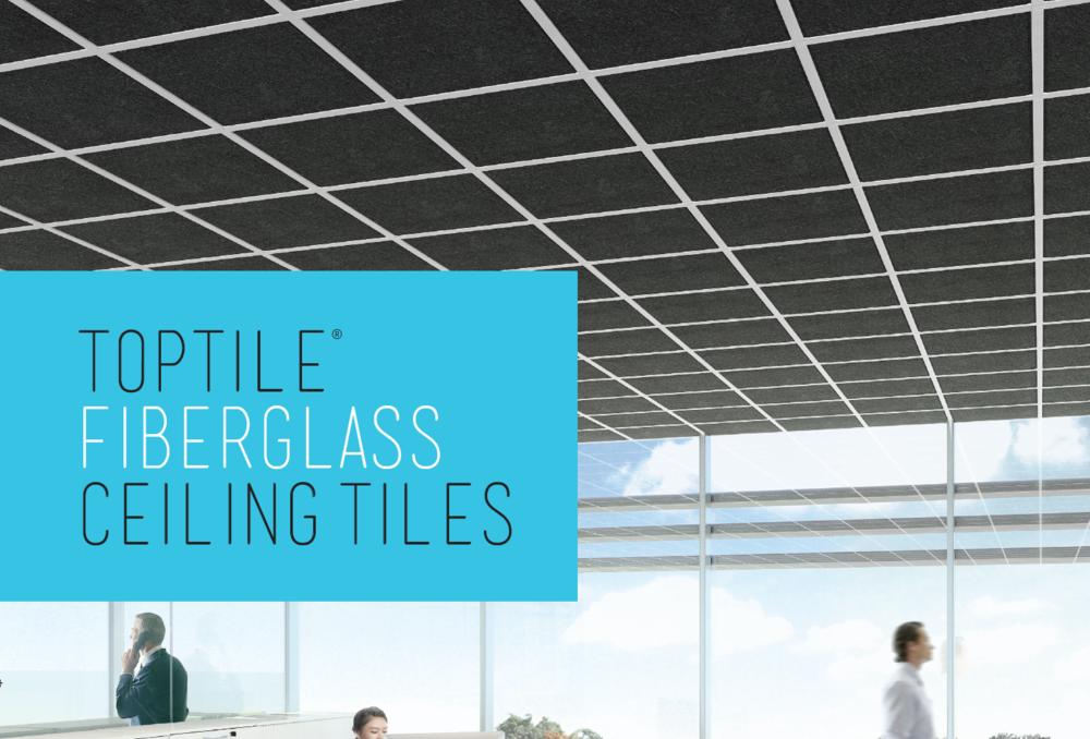 Fiberglass Ceiling Tiles Toptile Ceilings