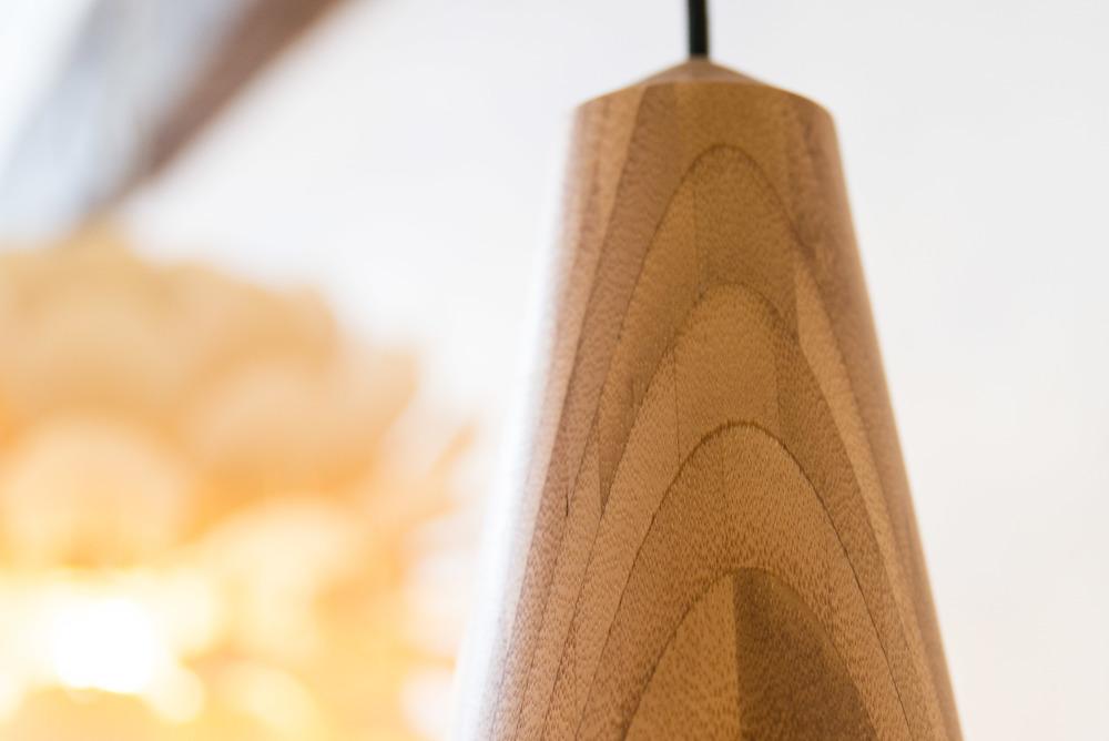 Detail of Eikon's bamboo wood