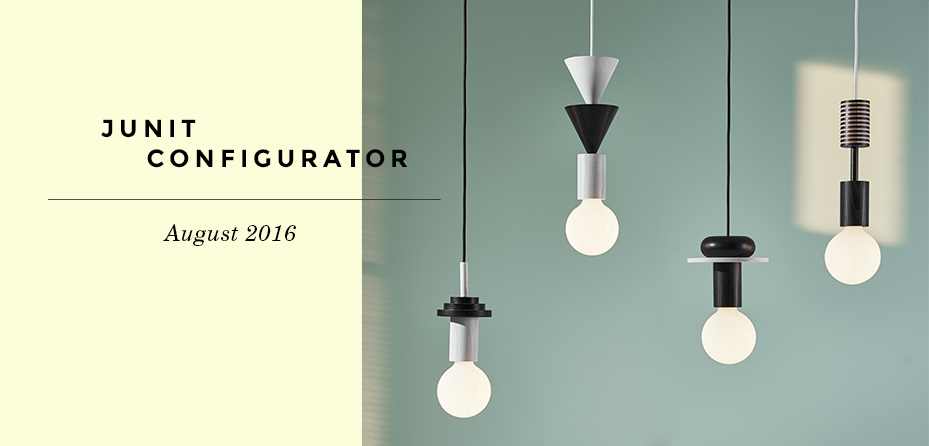 Junit Pendant Lighting configurator | Schneid Lighting & Furniture