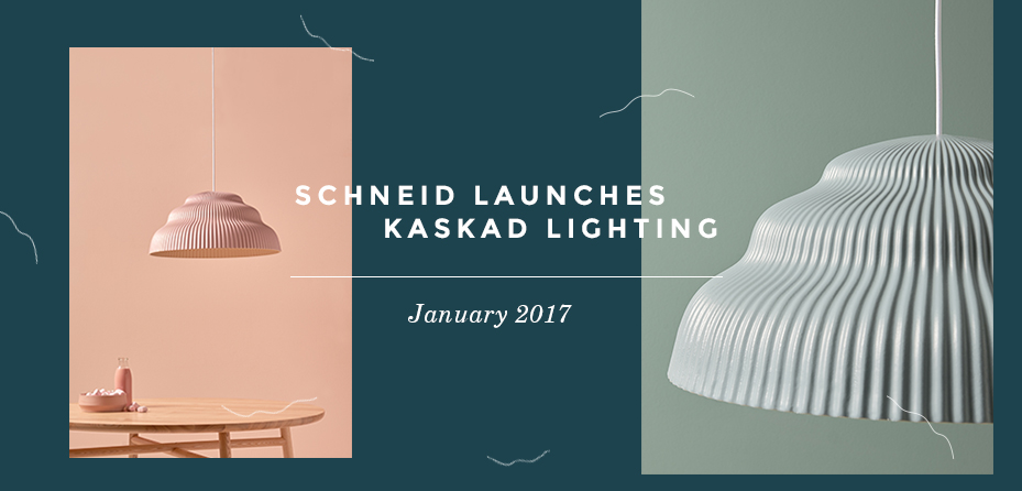 Schneid launches Kaskad lighting