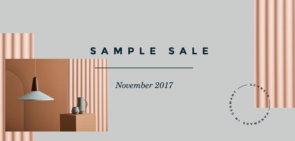 Schneid - Sample Sale