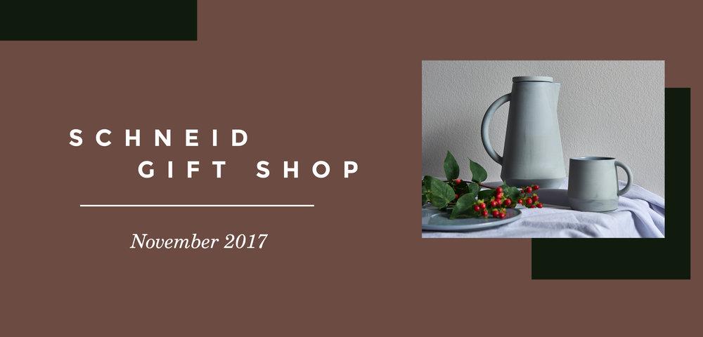 Schneid Gift Shop 2017