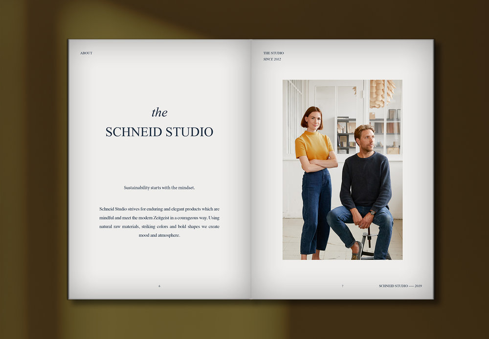 Schneid Studio Catalogue 2019