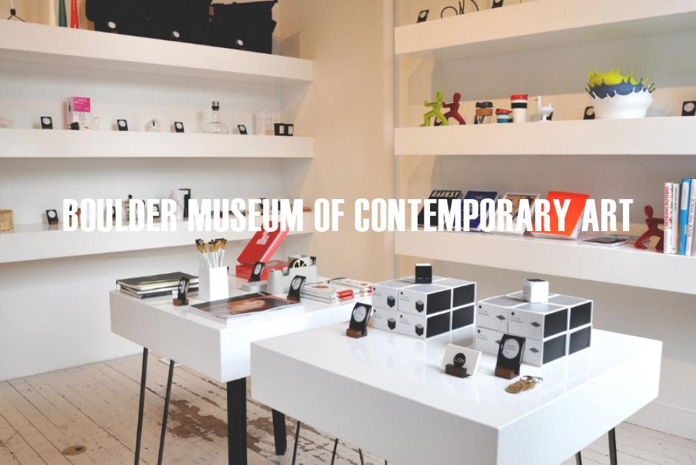 ALPINE MODERN. Display Tables, Shelving, Window Counter.