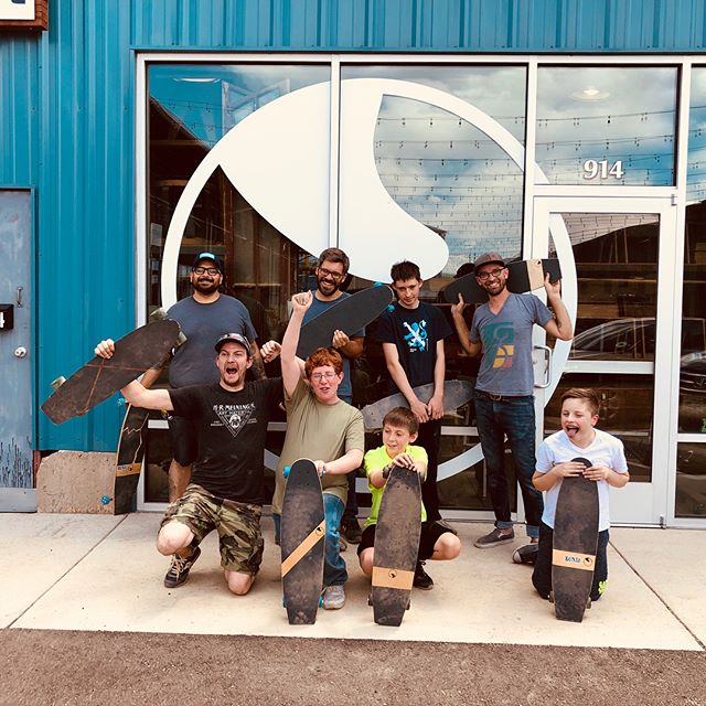 This week has been great building skateboards with the @tactkids! T.A.C.T. Is a trade and technical skill program designed to empower individuals with autism spectrum disorder and help develop skills for life. Www.buildwithtact.org