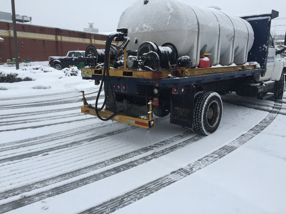 Liquids Work In A De-icing Situations As Well