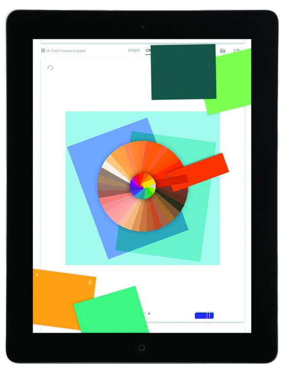 Josef Albers & iPad