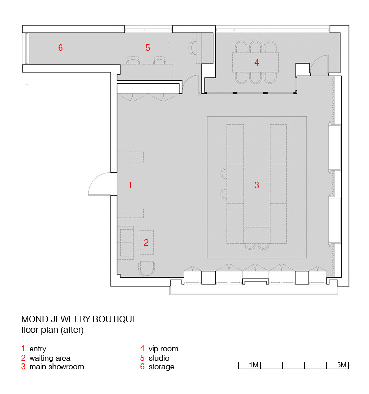 FLOORPLAN  - BEFORE AND AFTER
