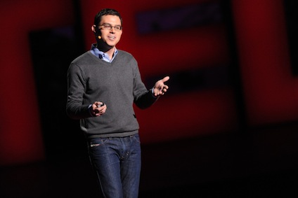 Joshua Foer at TED 2012.