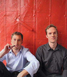 James and Adam Bowen, founders of ploom