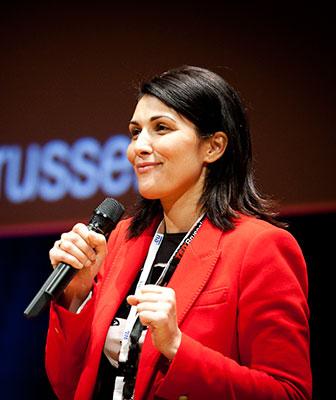 Sam Lounis De Brouwer, TEDxBrussels organizer