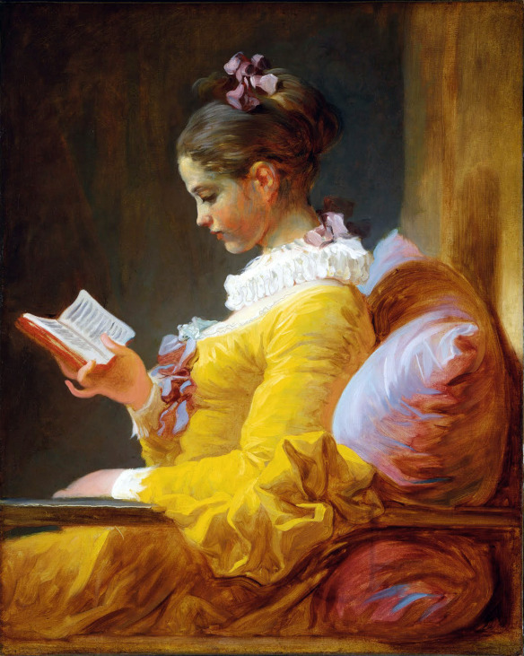 Girl Reading by Jean Honore Fragonard