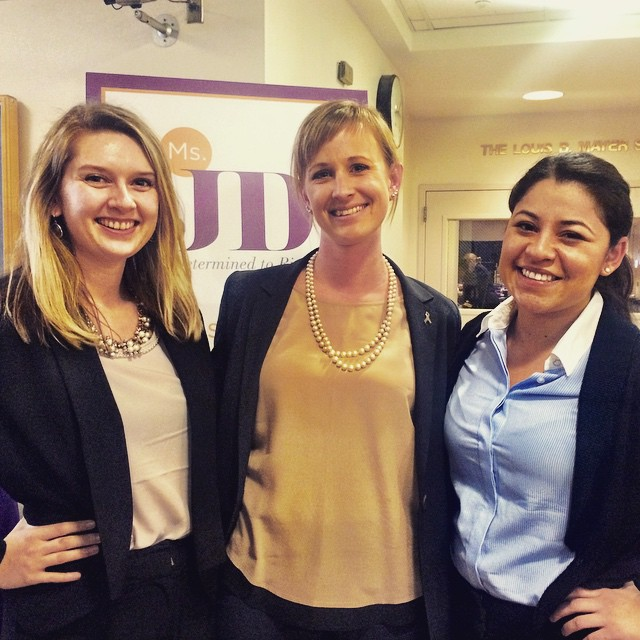 Our EIC Sonya Rahders and SE Julie Alarcon with Ms. JD Hastings president Ashley Overhouse, loving today at @msjdorg's annual conference #StrongerTogether at @uchastingslaw!