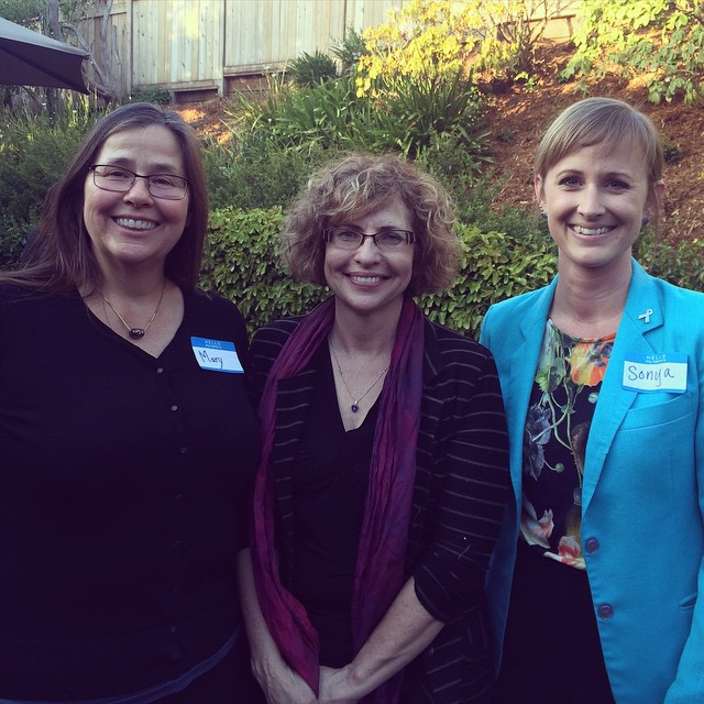 Such a pleasure to meet HWLJ founding member Barbara Dickinson and fellow #UCHastings alum Mary Cain-Simon at the #Women #Lawyers of Alameda County annual member reception. What an amazing legacy!
