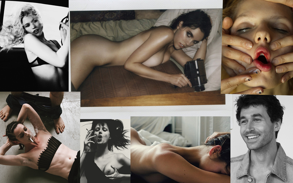 A series of images depicting freedom and relativity. Images include porn stars, Stoya and James Deen, as well as scenes from editorials.