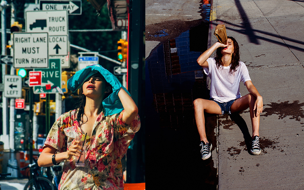 "These are both from personal work, shot as I was losing my illusion of what NYC is and isn't. I found myself with a ""NY hangover"" after years of drinking the kook-aid. The city I love is also the city I loathe. My Love/Hate relationship was finally open."