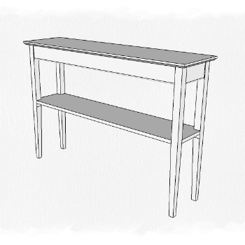 Sofa Table w: Tapered Legs.jpg