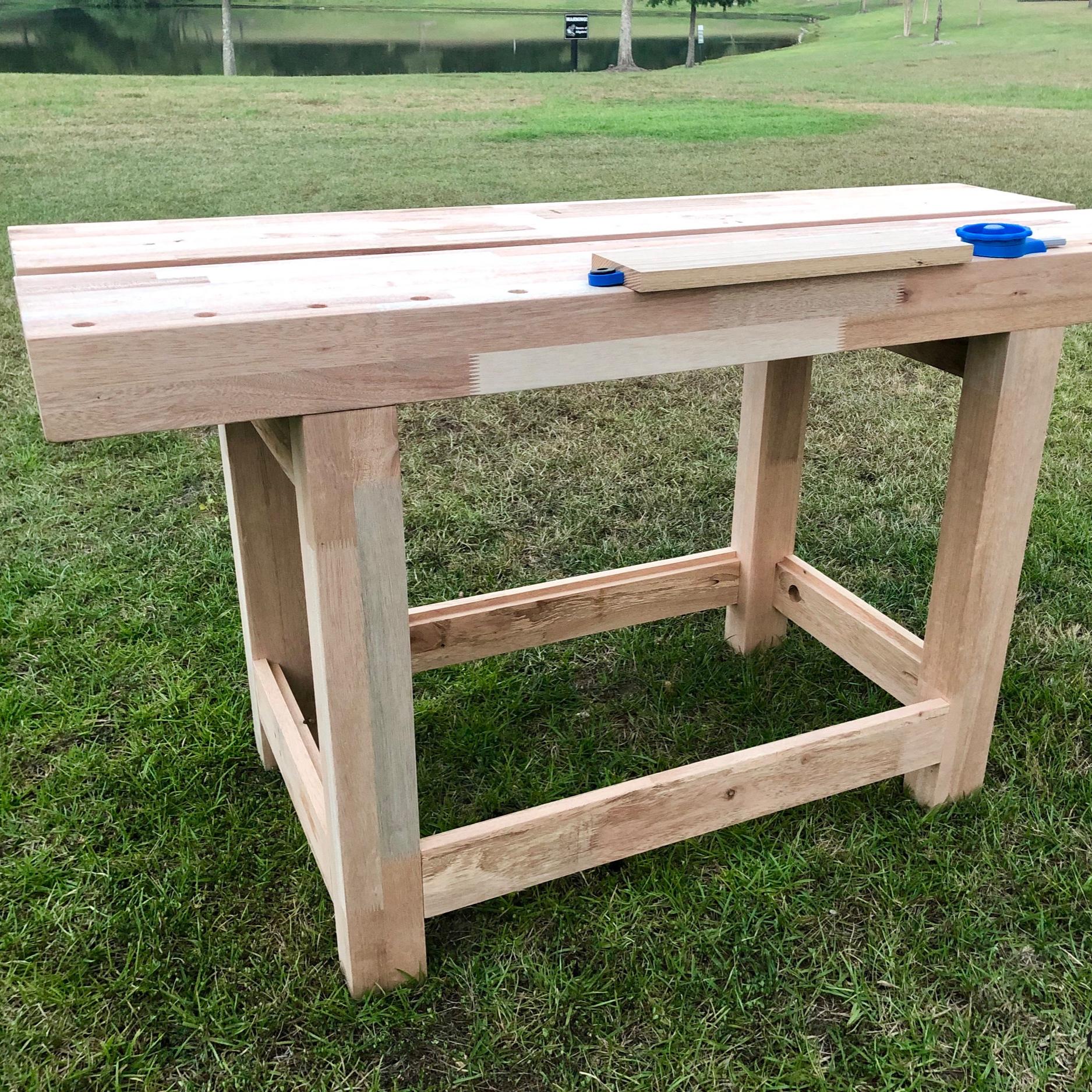 Simplified Split Top Roubo Workbench Countryside Workshop