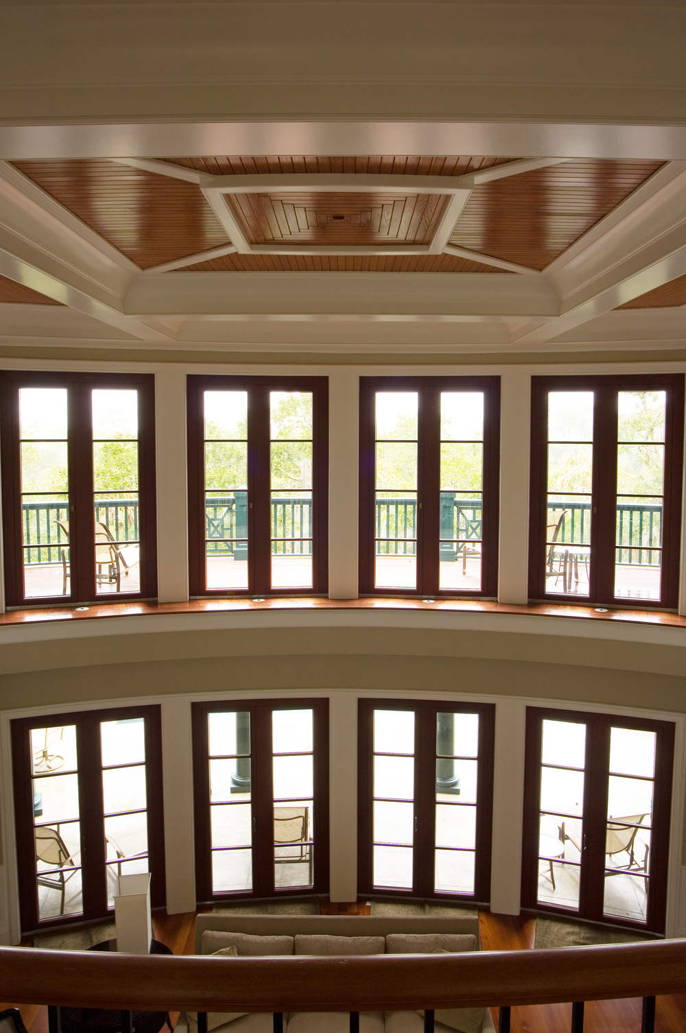Aluminum Clad Meranti Wood Windows