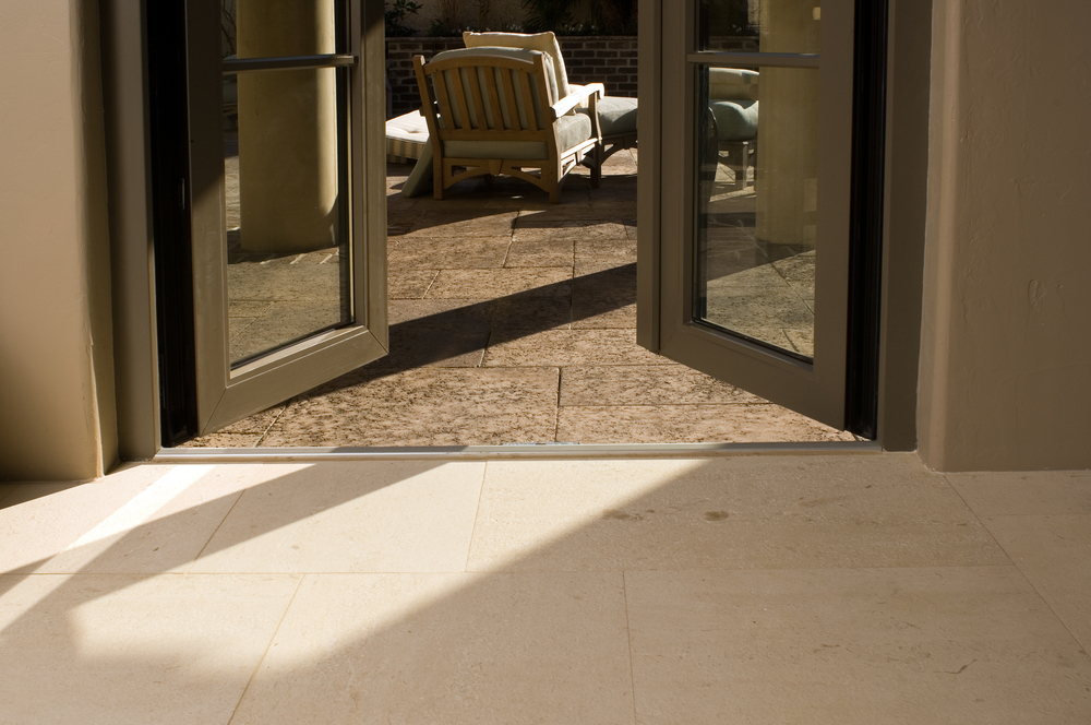 French Doors HENSELSTONE WINDOW AND DOOR SYSTEMS INC - Triple patio door