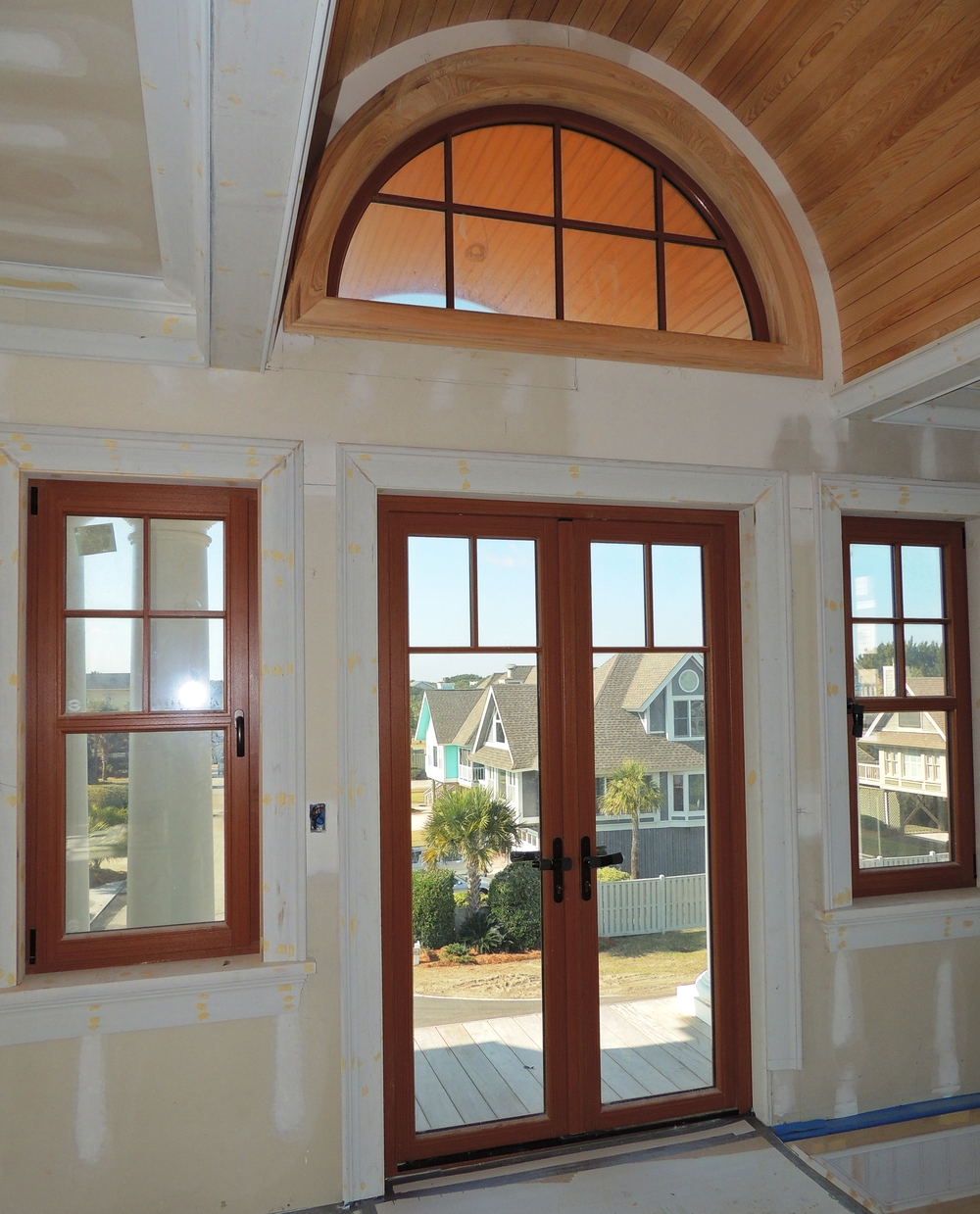 French doors henselstone window and door systems inc for Transom windows
