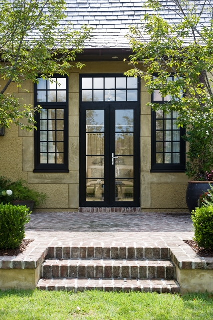Maintenance Free French Door with Transom, Hurricane Rated